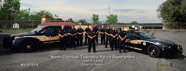 2016 North Cornwall Township Police Department