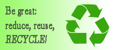 Reduce Reuse Recycle Ad